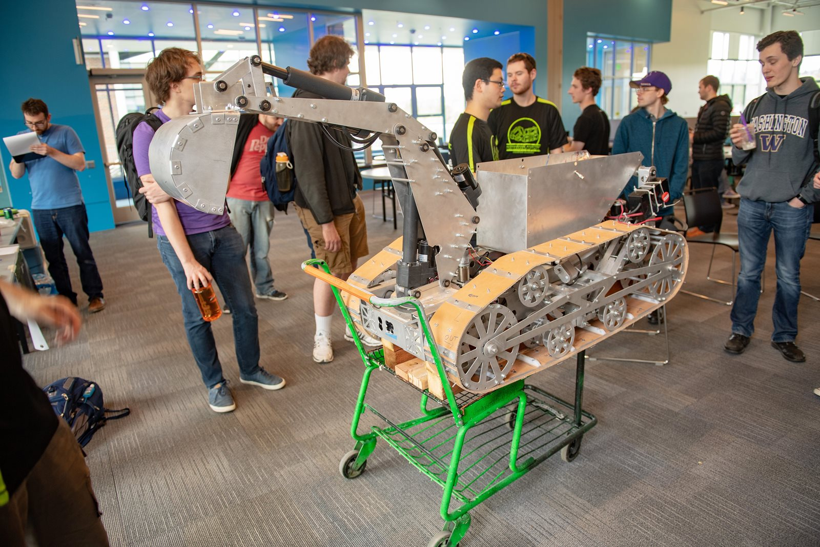 TrickFire's Mars robot for NASA competition