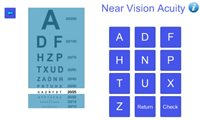 vision test graphic