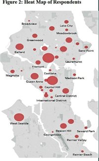 Map of Seattle sale hot spots