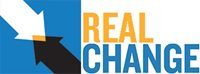 Real Change logo