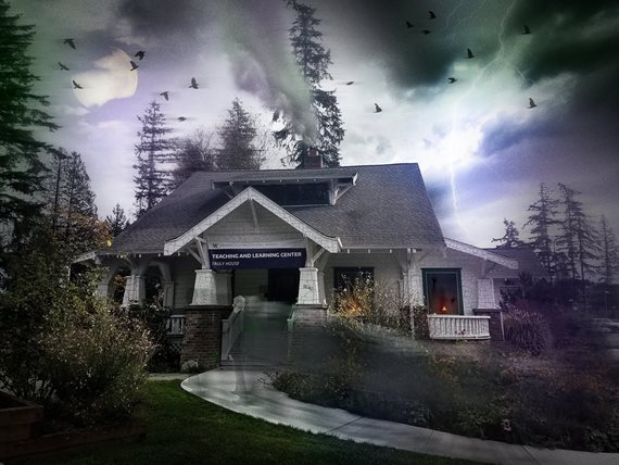 haunted Truly house graphic