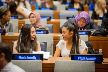 Sayaka Oe at United Nations