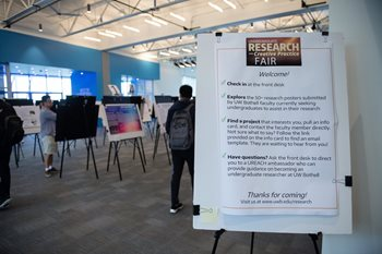 Welcome to the Undergraduate Research Fair