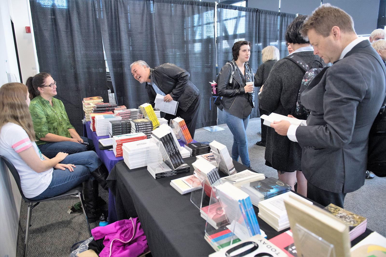 Bookselling at 2017 convergence