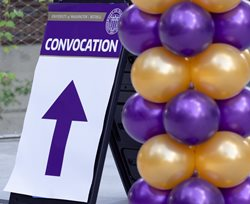 Convocation sign