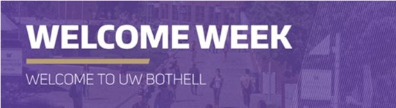 Welcome Week banner