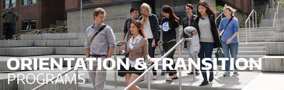 Orientation and Transition Programs banner