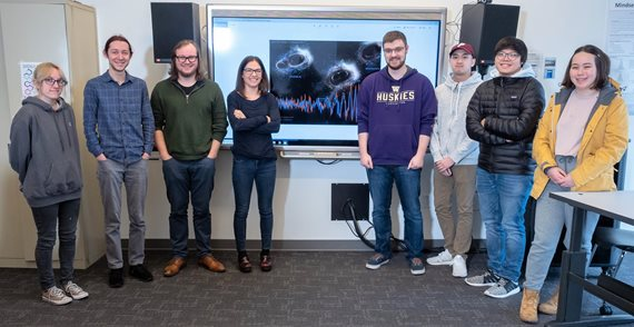 UWB Gravitational Wave Research group