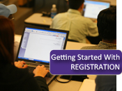 Getting started with registration