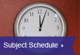 Subject Schedule