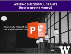 open grant writing presentation