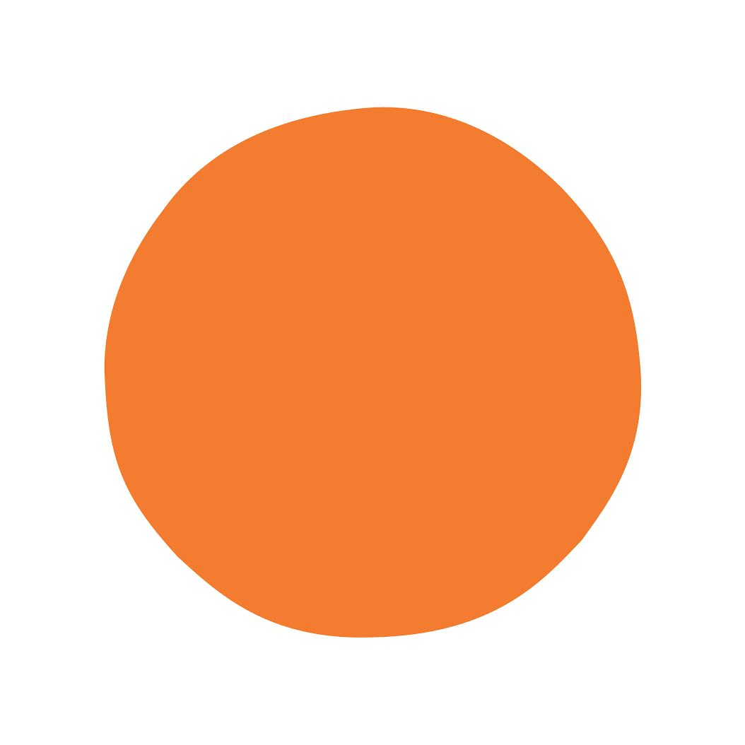 icon of an orange cirlce