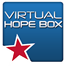 Icon of virtual hop box logo with a star