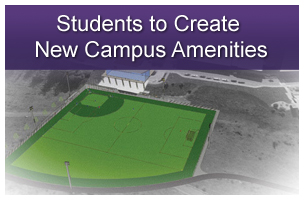 Student Spotlight: Students to Create New Campus Amenities: Crazy Math