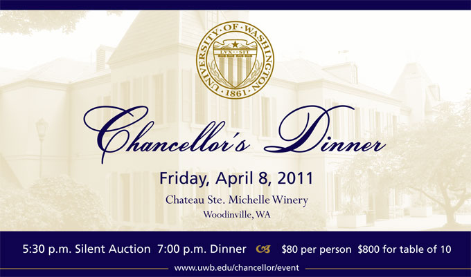 Chancellor dinner